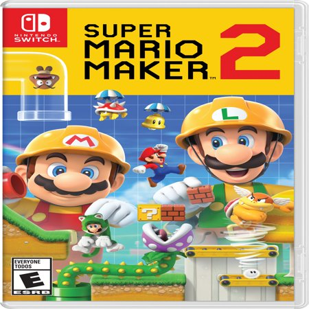 Super Mario Maker 2, Nintendo, Nintendo Switch, 045496596484](Super Paper Mario Fire Tablet)