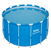 """Bestway 15' x 48"""" Steel Pro Frame Above Ground Swimming Pool 