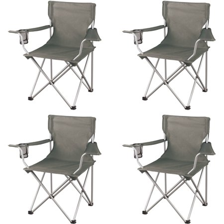Ozark Trail Classic Folding Camp Chairs, Set of