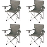 Ozark Trail Classic Folding Camp Chairs, Set of 4