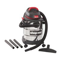 Shop-Vac, 6 Gallon 4.5 Peak HP Stainless Steel wet/dry vac