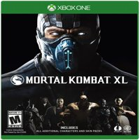 Mortal Kombat XL, Warner Bros, Xbox One, 883929527243