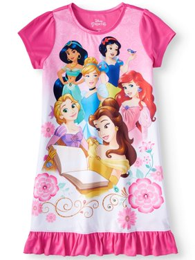 be699e5254 Product Image Girls  Disney Princesses Pajama Nightgown