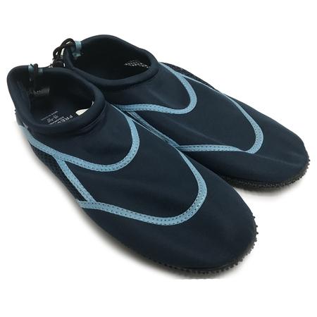 Fresko Men's Aqua Shoes Light Blue/Navy Size 12 - Aqua Blue Jordans