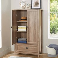 Better Homes & Gardens Lafayette Armoire, Washed Oak Finish