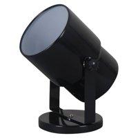 """Mainstays 7.5"""" Spotlight Accent Lamp, Black Finish"""