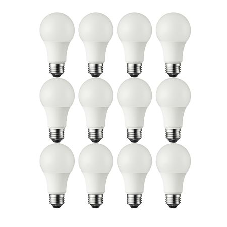 Great Value LED Light Bulb, 9.5W (60W Equivalent) A19 Lamp E26 Medium Base, Soft White, 12-Pack - Led Lights Bulk