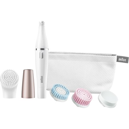 Braun FaceSpa 851 ($30 Mail in Rebate Available) - Mini-Facial Epilator with 4 Facial Cleansing Brushes and Beauty