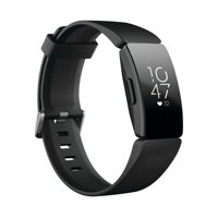 Fitbit Inspire HR Fitness Tracker + Heart Rate - Small and Large Wristbands