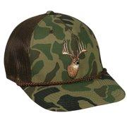 Outdoor Cap Throw Back Generic Wildlife Camo Mesh Back Hunting Hats (Camo  Deer) 024c5d30fe1