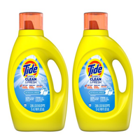 Tide Simply Clean & Fresh HE Liquid Laundry Detergent, Refreshing Breeze Scent, 64 Loads 100 Oz