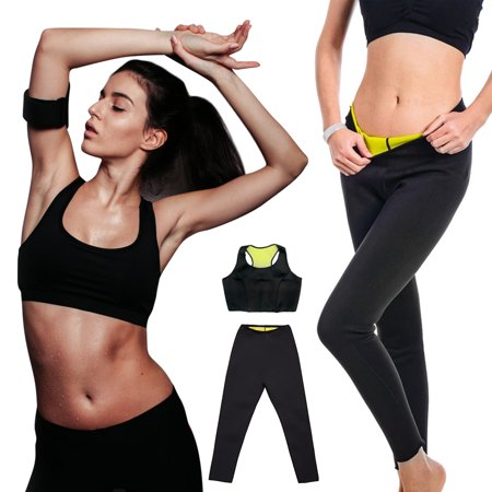 Women Hot Sweat Neoprene Sauna Thermo Body Shaper Trainer Gym Yoga Slimming Vest / Pants  S/ M/ L/ XL/ XXL / - Hot Women On Pinterest