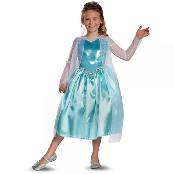Disney Frozen Elsa Costume (Small 4 6) By Disguise Costumes