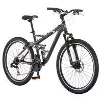 "26"" Mongoose Detour Men's Mountain Bike, Grey"