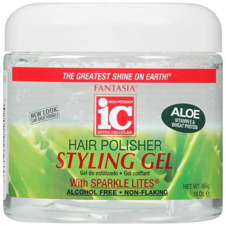 Fantasia w/Sparkle Lites & Aloe Hair Polisher Styling Gel, 16 Oz ()