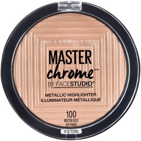 Facestudio Master Chrome Metallic Highlighter, Molten