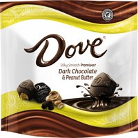 (2 Pack) Dove Promises, Peanut Butter And Dark Chocolate Candy, 7.61 Oz