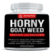 Horny Goat Weed Extract With Maca Root, L-Arginine HCL, Panax Ginseng & More