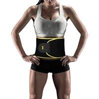 Yosoo Waist Trimmer Belt - Neoprene Waist Sweat Band for Slimmer Water Weight Loss Mobile Sauna Tummy Tuck Belts Strengthen Tummy Abs During Exercising Workout, for Women, Yellow