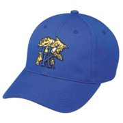 ae01ae86 NCAA College ADULT KENTUCKY Wildcats Blue Hat Cap Adjustable Velcro TWILL