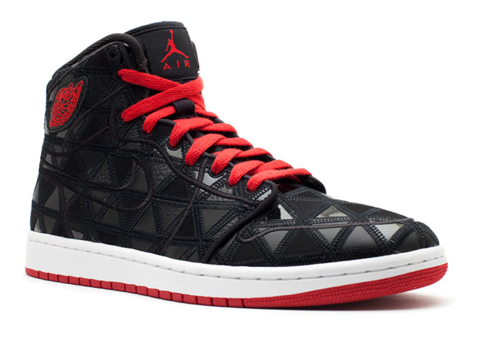 low priced 71458 1f866 ... nike mens aj1 j2k high black varsity red white 401620 002