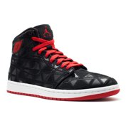 best website dc326 65c7a Nike Mens AJ1 J2K High Black Varsity Red-White 401620-002