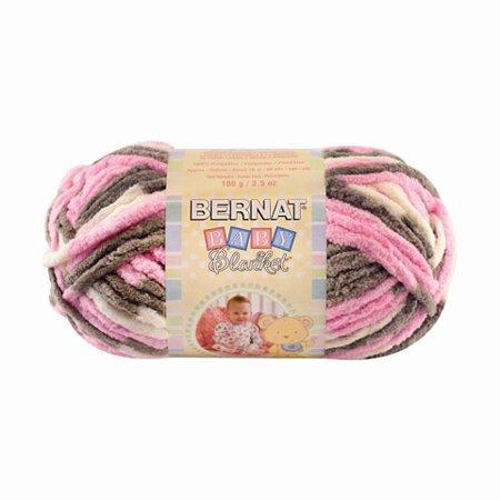 Bernat Baby Blanket Petunias Yarn, 1 Each