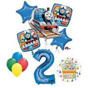 The Ultimate Thomas Train Engine 2nd Birthday Party Supplies