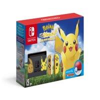 Nintendo Switch Pikachu Edition Bundle, Gray/Yellow, HACSKFALF