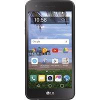 TracFone LG Rebel 2 8 GB Prepaid Smartphone, Black