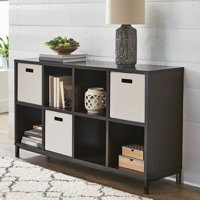 Better Homes and Gardens 8 Cube Storage Organizer with Metal Base, Multiple Finishes