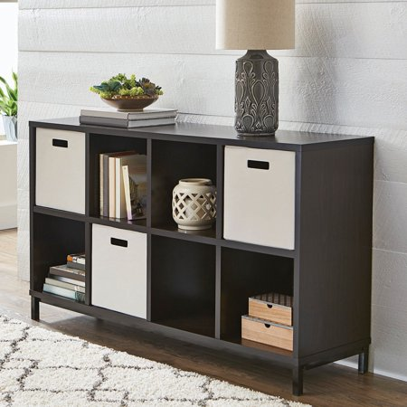 Better Homes And Gardens 8 Cube Storage Organizer With Metal Base Multiple Finishes Walmart Com