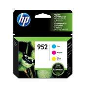 HP 952 3-pack Cyan/Magenta/Yellow Original Ink Cartridges