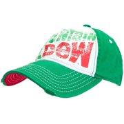 a9728047a9e Mountain Dew - Large Distressed Logo Flex-Fit Cap