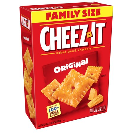 Snack 21 Salmon Snacks (Cheez-It Baked Original Cheese Crackers Family Size, 21)