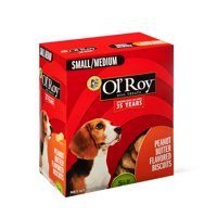 Ol' Roy Peanut Butter Flavored Dog Biscuits, Small/Medium, 5 lb