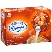 (4 Pack) International Delight Hazelnut Creamer, 48 Ct