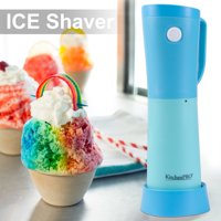 KitchenPRO Electric Easy Pour Ice Shaver, Snow Cone Shaved Ice, Ice Crusher Machine