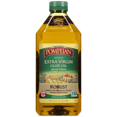 Pompeian Extra Virgin Olive Oil Robust, 68.0 FL (Pressed Extra Virgin Olive Oil)