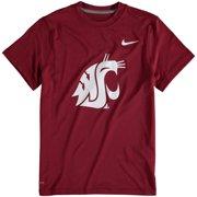 new product e3404 a42e9 Washington State Cougars Nike Youth Logo Legend Dri-FIT T-Shirt - Crimson