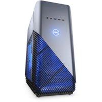Dell Inspiron 5680 Gaming Desktop Computer, Intel Core i7 (8th Gen) i7-8700 3.20 GHz - 8 GB DDR4 SDRAM - 1 TB HDD - 128 GB SSD - Windows 10 Home