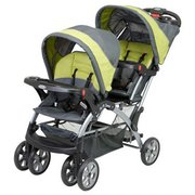 Baby Trend Sit N Stand Infant & Toddler Double Inline Tandem Stroller, Carbon