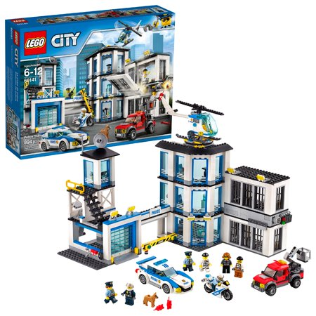 LEGO City Police Station 60141 Building Set (894 Pieces)