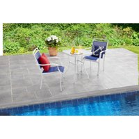 Mainstays Sand Dune 3-Piece Outdoor Bistro Set, Blue