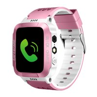 ELEOPTION Kids Smart Watch With Camera GPS Tracker LBS Positioning Flashlight Touch Screen Anti-lost Alarm Function Compatible For iOS Android, Best Xmas Gift