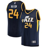 e05aa4e48 Grayson Allen Utah Jazz Fanatics Branded Youth Fast Break Replica Jersey  Navy - Icon Edition