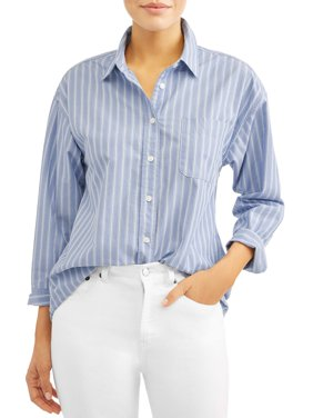 Niccola Button Front Shirt With Pocket Women's