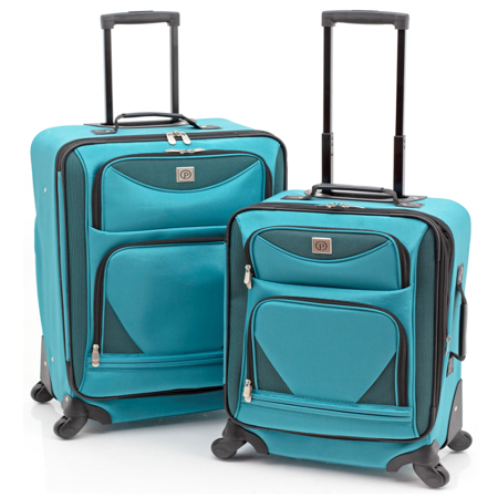 Protege 2-Piece Expandable Spinner Set Luggage Atlantic Luggage Luggage Set