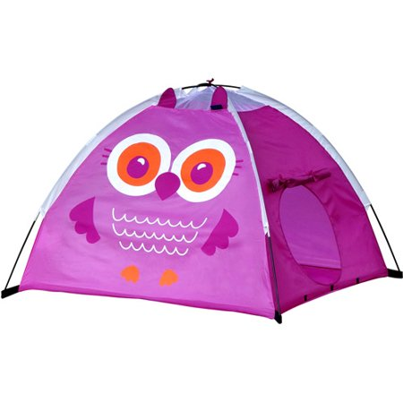 GigaTent Olivia the Owl Dome Play Tent (Pink Purple Tent)