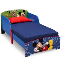 Disney Mickey Mouse Wood Toddler Bed by Delta Children